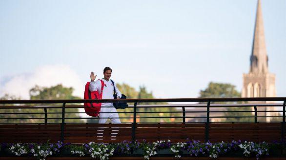 Wimbledon. ¿La última vez de Roger Federer en Londres?: