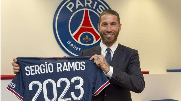 El PSG anuncia el fichaje de Sergio Ramos por dos temporadas