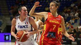 Sendos triunfos en el doblete masculino y femenino de España ante Francia
