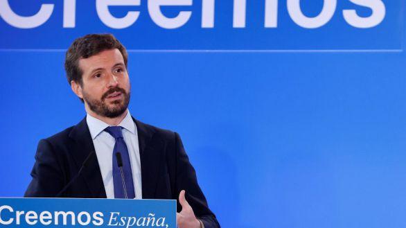Casado acusa a Sánchez de intervencionismo orwelliano: