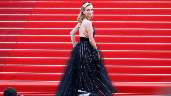 Diane Kruger, Isabelle Huppert, Eva Herzigová... Las divas de Cannes apuestan por el blanco y negro