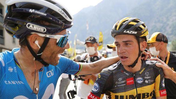 Tour de Francia. Valverde se queda a la puertas del triunfo en Pirineos