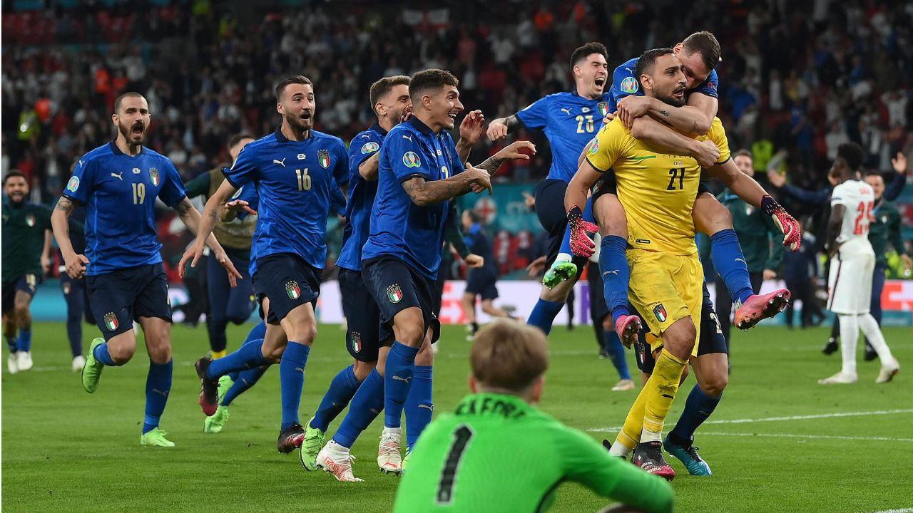 Italia conquista en Wembley la Eurocopa de la pandemia