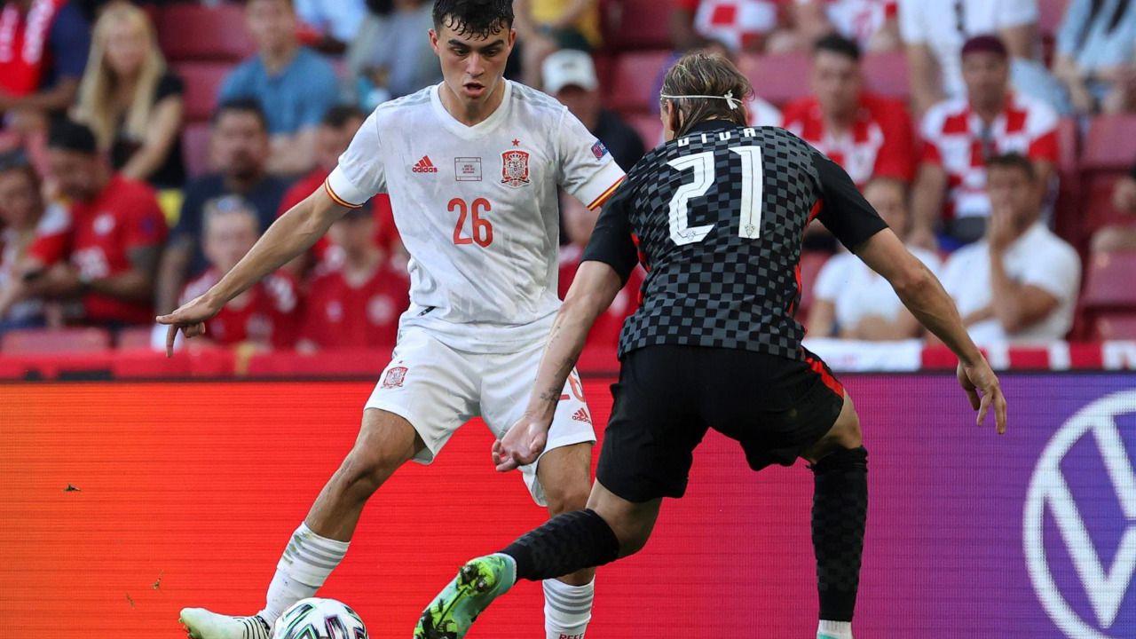 Pedri, elegido por la UEFA mejor jugador joven del torneo