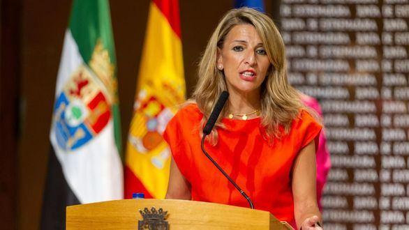 Yolanda Díaz no descarta cambios en los ministros de Podemos