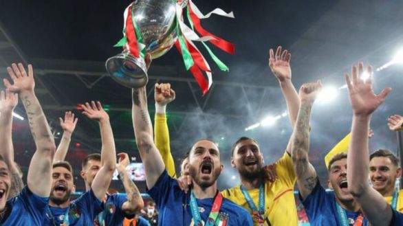 La final de la Eurocopa arrasa