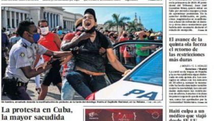 Las portadas de los periódicos de este martes, 13 de julio