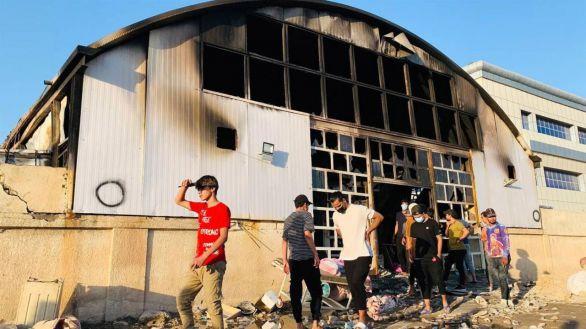 Arrecian las críticas al gobierno iraquí tras la muerte de 92 personas en un incendio en un hospital