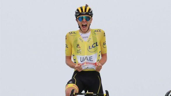 Tour de Francia. Golpe de autoridad de Pogacar en la etapa reina