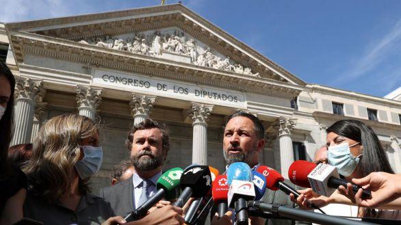 Abascal pide la dimisión del Gobierno tras la sentencia del Tribunal Constitucional
