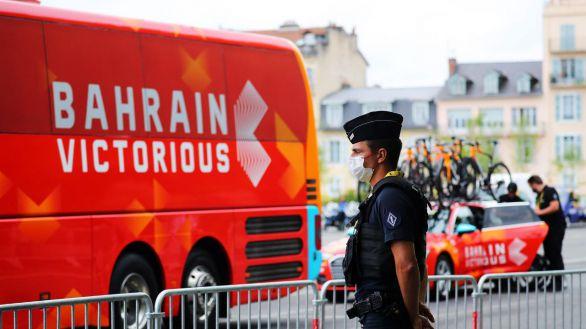La Gendarmería registó el hotel del equipo Bahrein-Victorious