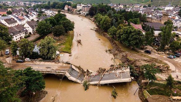 Tragedia en Alemania: las autoridades culpan de las inundaciones al cambio climático