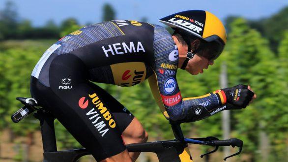 Tour de Francia. Van Aert brilla en la crono y Pogacar sentencia el título