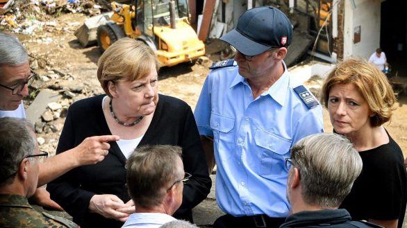 Merkel promete