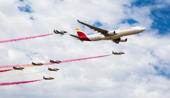 Iberia, 90 años pasan volando