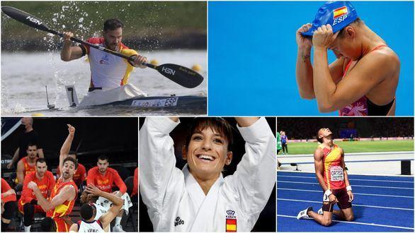 España busca recuperar la sonrisa en el medallero