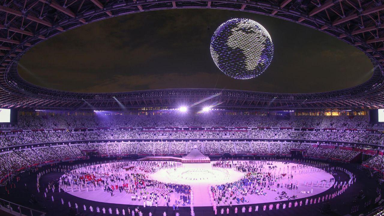 Las imágenes de la ceremonia de inauguración de Tokio 2020