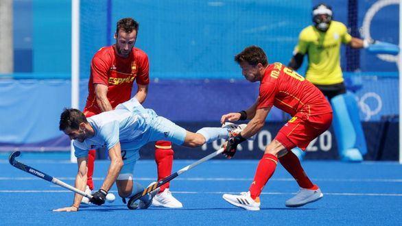 España acosa a la vigente campeona olímpica para empezar | 1-1