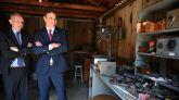 Sánchez durante su visita al Garaje Hewlett-Packard en Palo Alto
