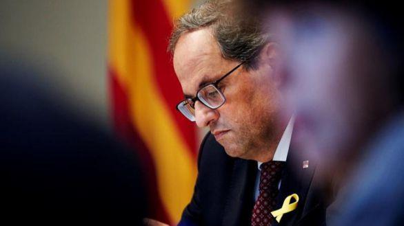 La Junta Electoral reclama a Torra 8.500 euros en multas