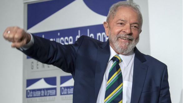 Fotografía de archivo fechada el 6 de marzo de 2020 que muestra al ex presidente brasileño Luis Inácio Lula da Silva.