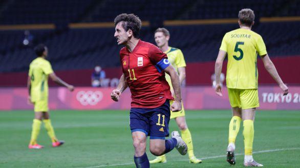 Oyarzabal desatasca a España justo a tiempo  0-1