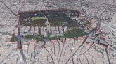 El 'Paisaje de la Luz' de Madrid visto desde el aire.