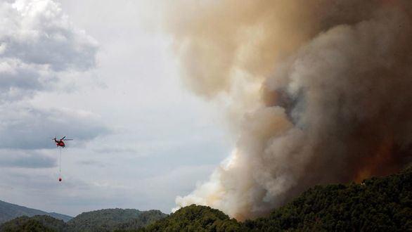 Controlado el incendio de Queralt, que ha quemado 1.700 hectáreas