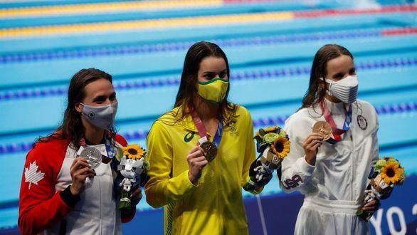 La australiana McKeown se impone en la final más esperada