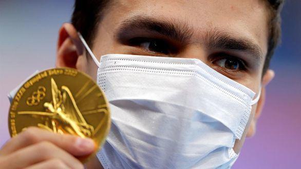 Oro para Rylov y sexta plaza para Hugo González en la final de los 100 espalda