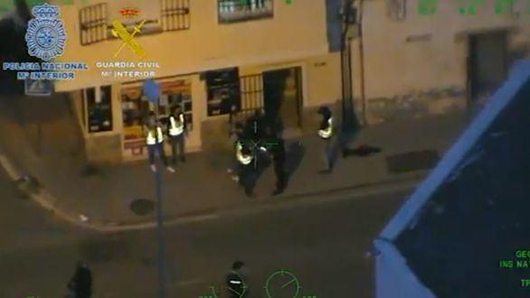 77 detenidos en una operación conjunta de Guardia Civil y Policía contra el Messi del hachís