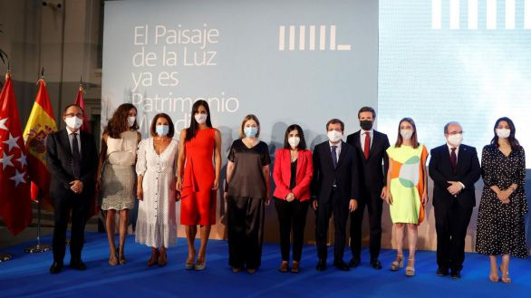 Madrid celebra que el 'Paisaje de la Luz' ya es Patrimonio Mundial de la Unesco