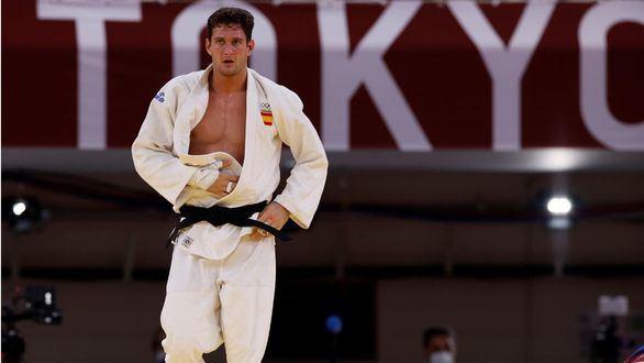 La amarga caída del favorito del judo español Sherazadishvili: