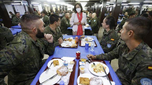 Robles viaja a el Líbano para visitar a las tropas españolas