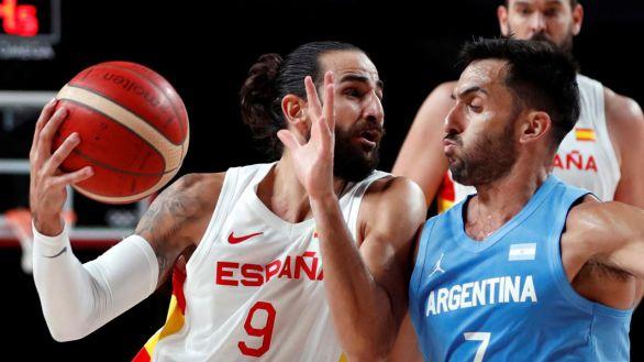 España domina a Argentina y se cita con Doncic por el primer puesto  81-71