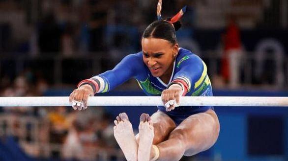 El ídolo de Rebeca Andrade recuerda que la gimnasia era vetada a los negros en Brasil