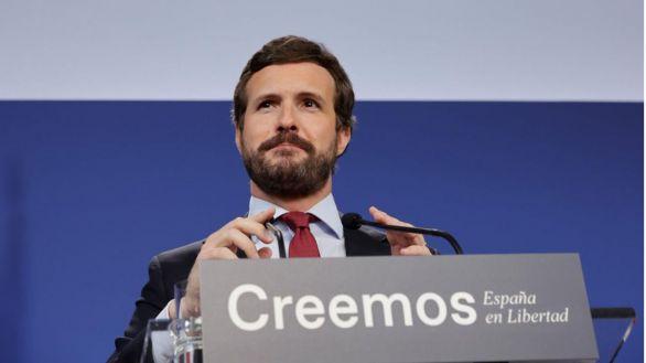 Casado considera que Sánchez ha mentido a todos los españoles: