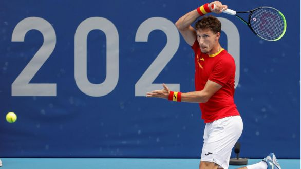 Carreño cae ante Khachanov y luchará por el bronce contra Djokovic
