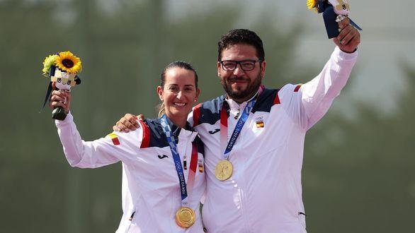 Fátima Gálvez y Alberto Fernández, primer oro para España