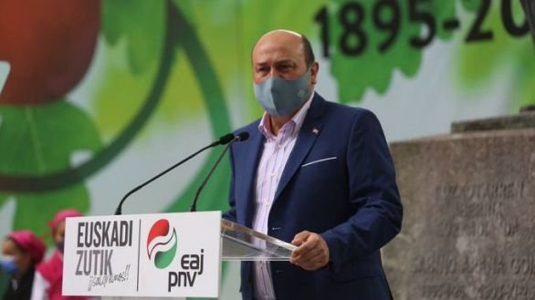 El presidente del PNV, Andoni Ortúzar.