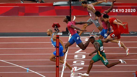 El italiano Lamont Jacobs, el hombre más rápido del mundo