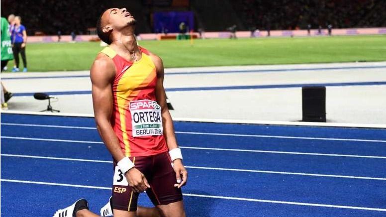 Orlando Ortega cae lesionado y no competirá en Tokio