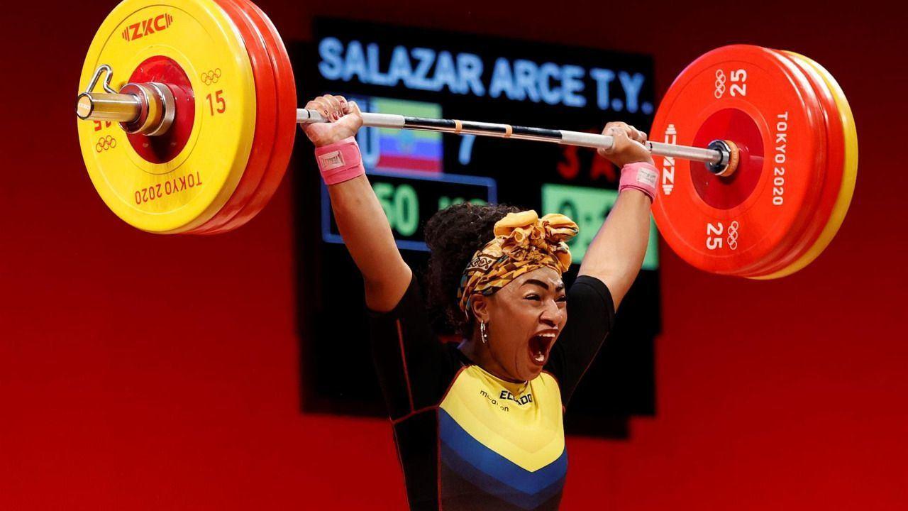Ecuador añade una plata de Salazar a unos Juegos históricos