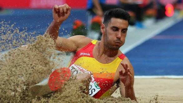 Torrijos queda fuera de la final de triple salto con 15,87