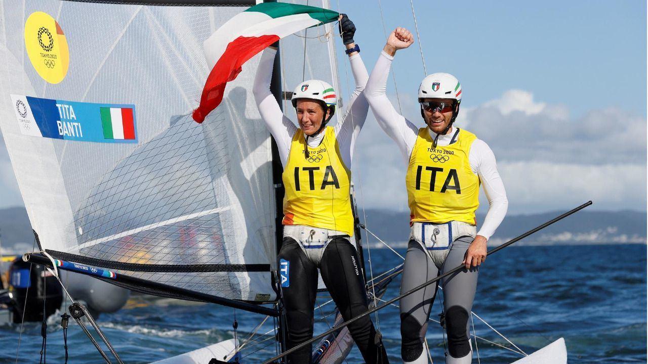 Triunfo italiano en Nacra 17 con la pareja española sexta