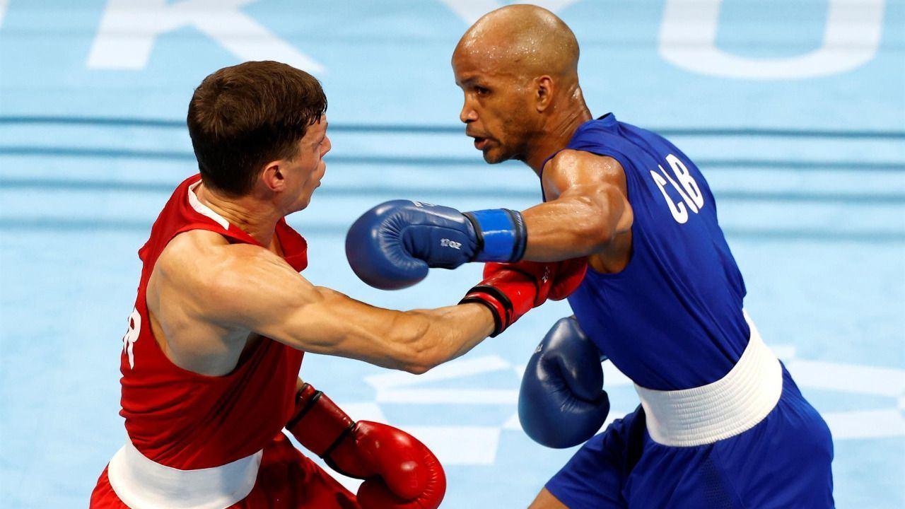 El cubano Roniel Iglesias logra el oro en peso welter
