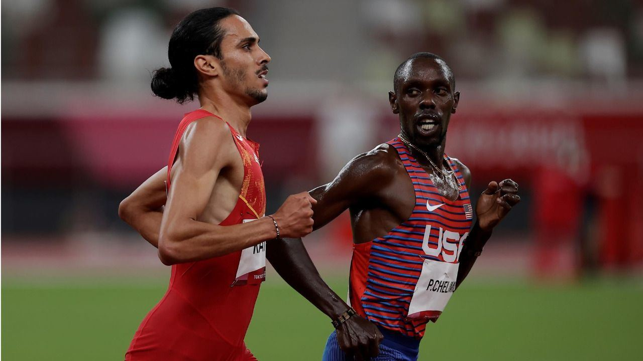 Katir confirma sus expectativas de medalla en el 5.000