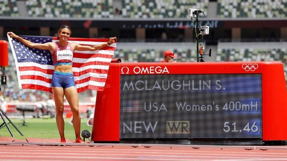 McLaughlin, como Warholm: oro y récord mundial en 400 m vallas