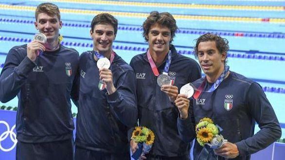 Roban los 'recuerdos' olímpicos de un nadador italiano plata en Tokio