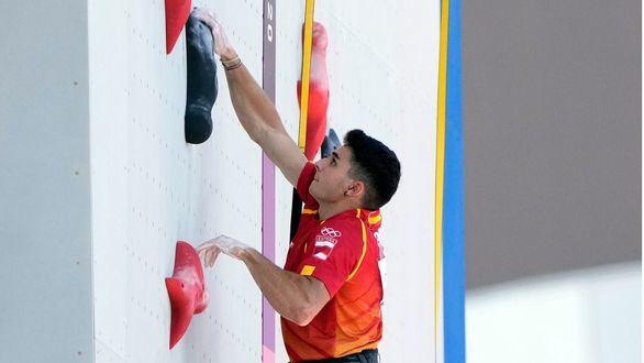 Alberto Ginés disputará la final en el estreno olímpico de la escalada